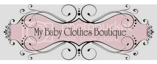 My Baby Clothes Boutique Logo